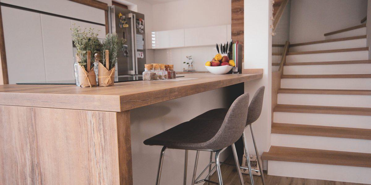 šank pult v kuhinji-Aljina kuhinja (1)