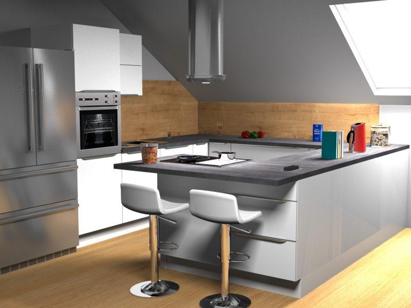 3D izris kuhinje po meri (4)