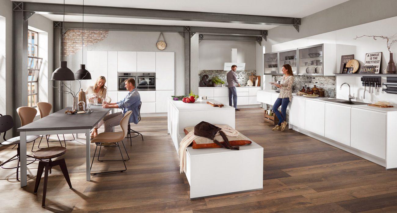 Kuhinja klasična bele kuhinje moderna