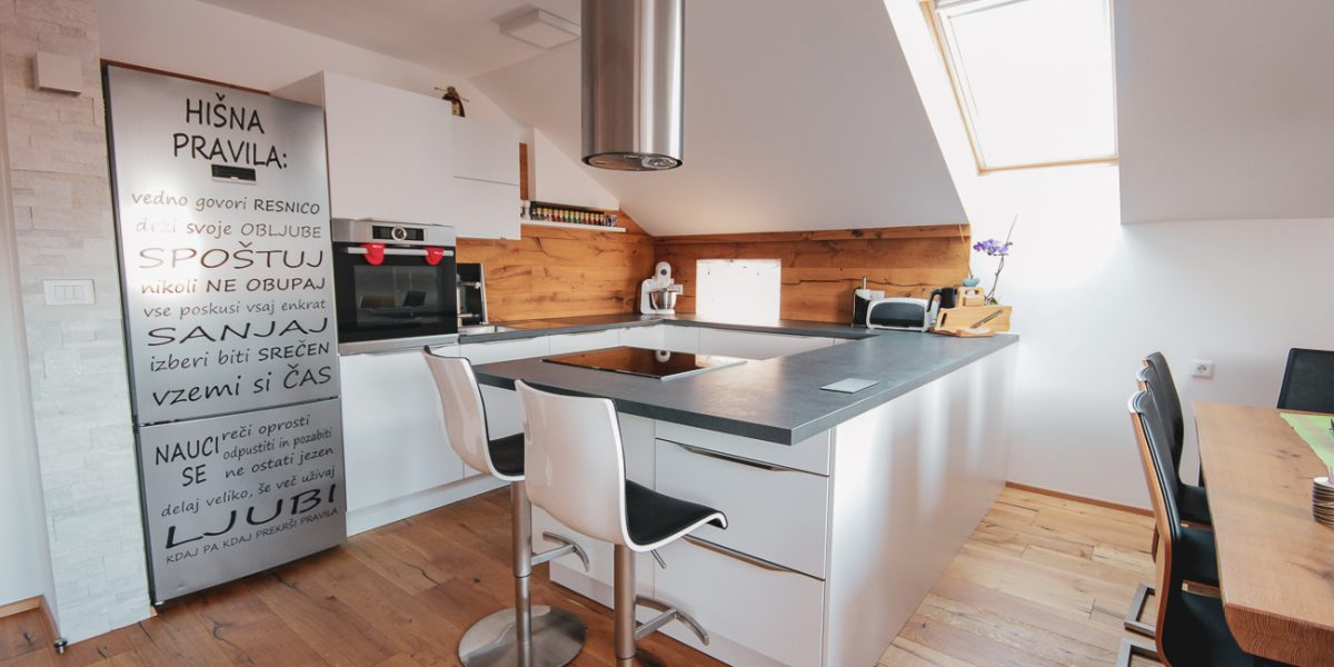 bela kuhinja po meri - klasična kuhinja (1)