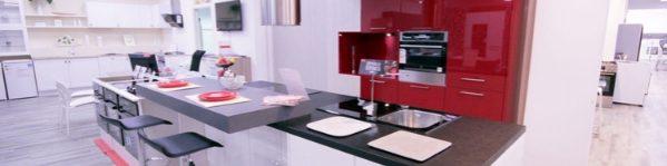 odprodaja eksponatov kuhinje po meri rdeča
