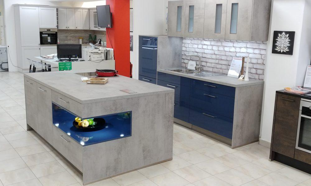 Odprodaja eksponata kuhinje Designo+ Stone Lux