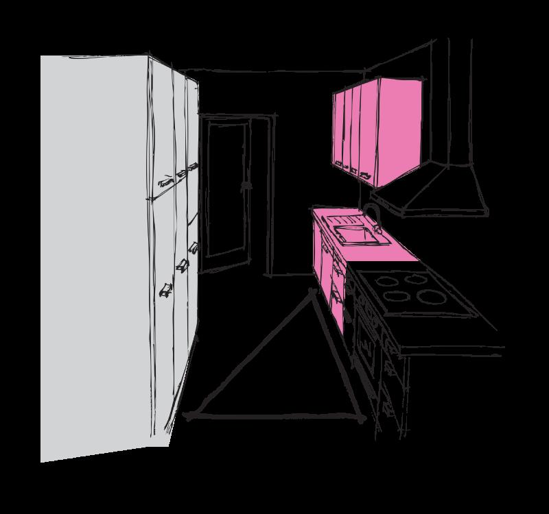 paket-brez-skrbi3 delovni trikotnik kuhinja