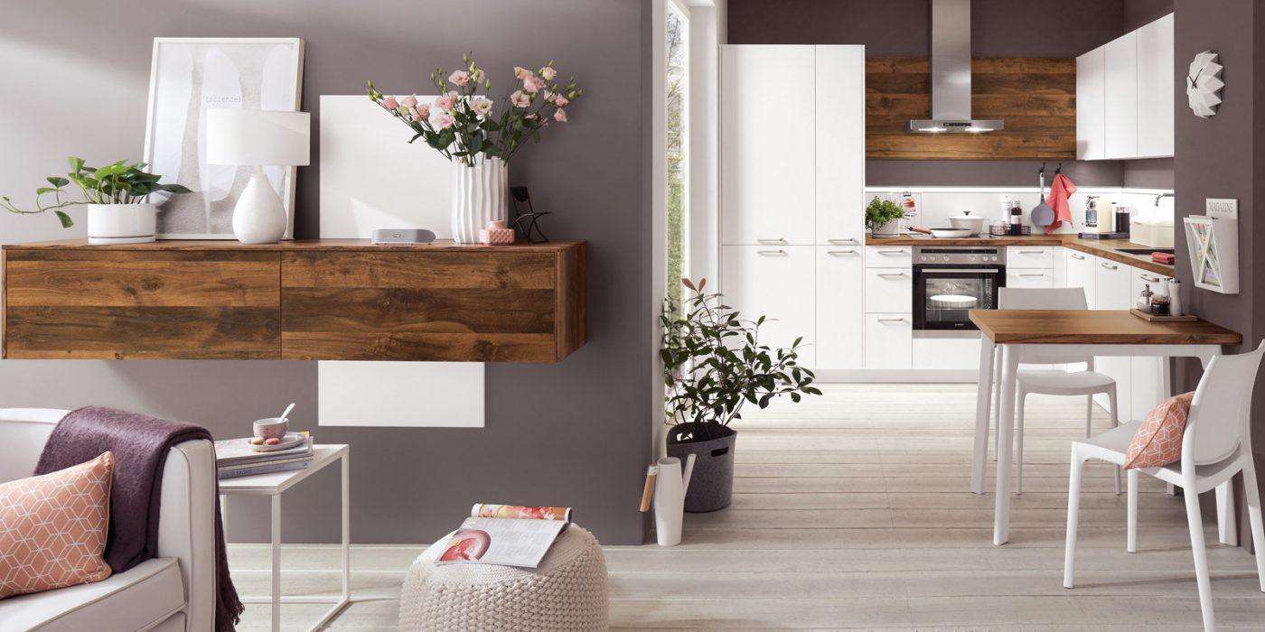 kuhinja klasična bela po meri 244