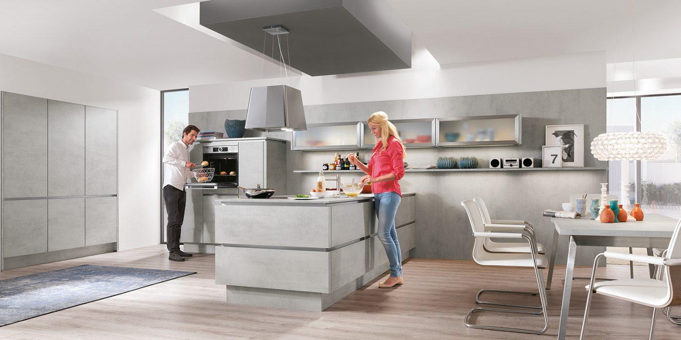 kuhinje industrijski stil beton 892