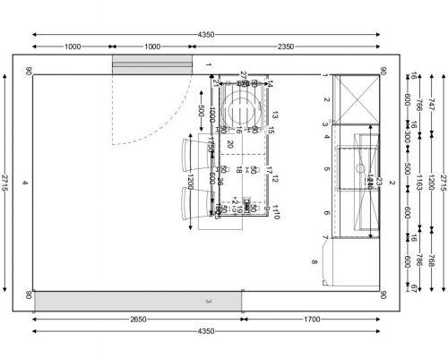 načrt kuhinje strašek2