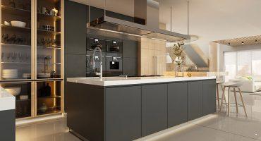 Osvetlitev kuhinje ga+kuhinje