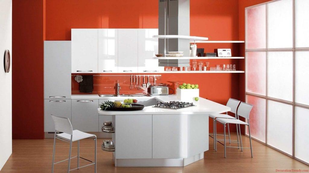 Kuhinjski kabineti barvna kombinacija