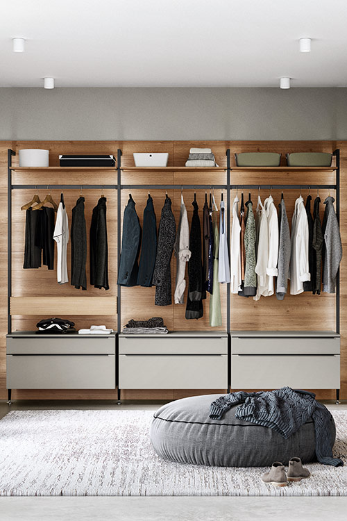 Predsobe in garderobe