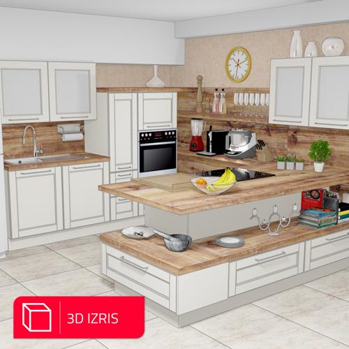 3d-izris-rustikalne-kuhinje